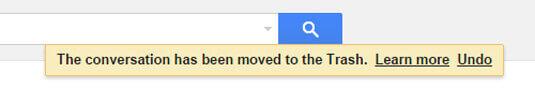 """Gmail 中的""""還原""""功能"""