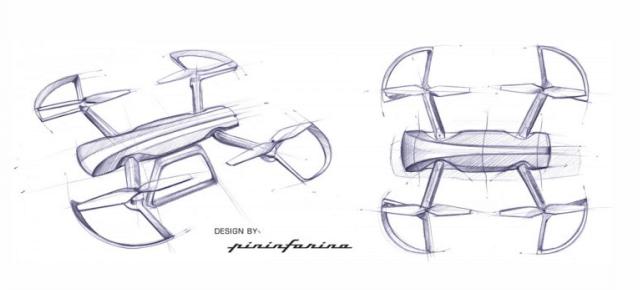 圖片來源:http://www.carbodydesign.com/2014/08/pininfarina-designs-rc-drone/