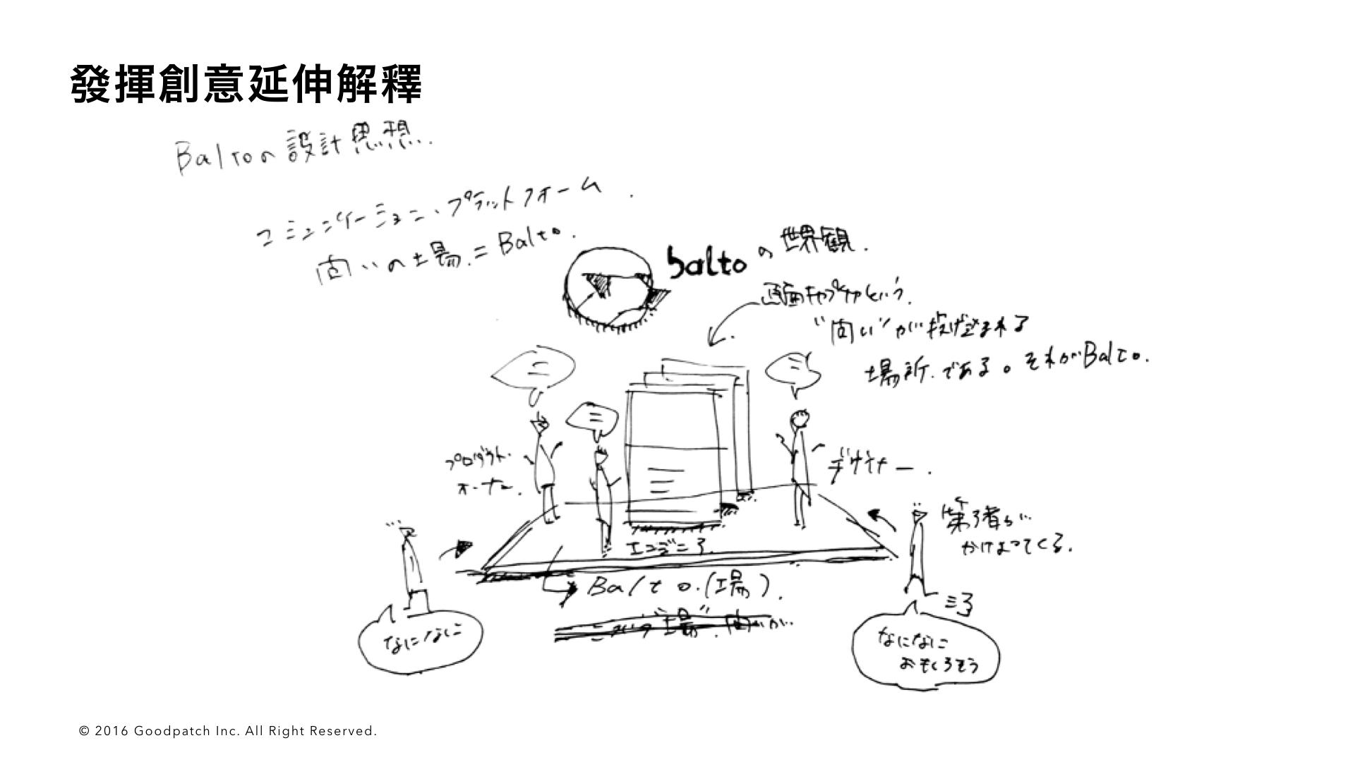 構思 Balto 的世界觀時所畫的插畫
