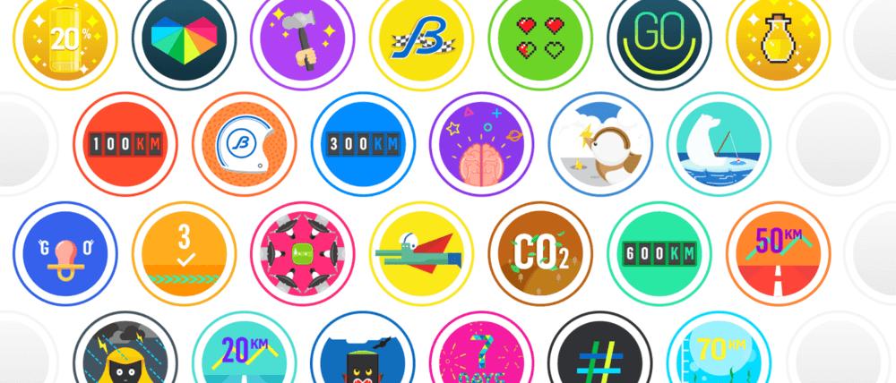 Gogoro Badges