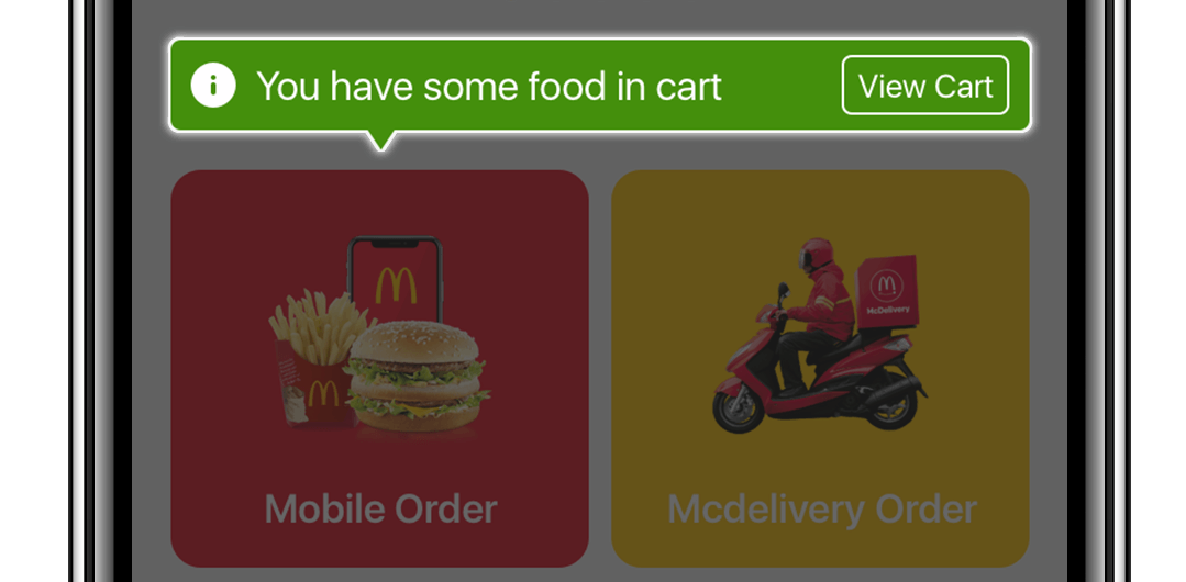 麥當勞 App UI